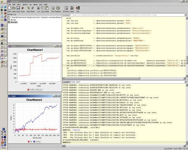 Open Java Trading System